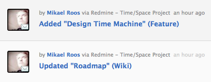 Flowdock Redmine Issues and Wiki Integration