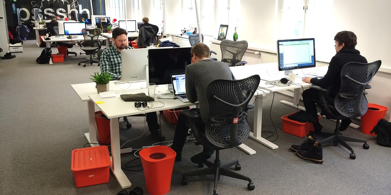 Working at the Flowdock office
