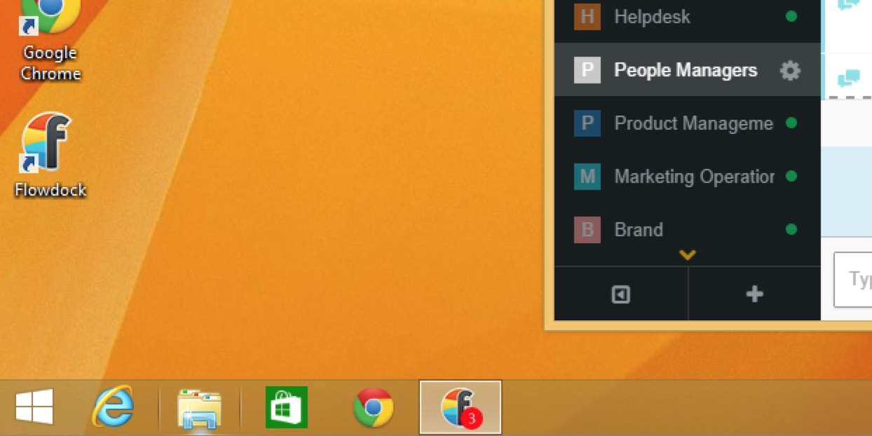 Flowdock for Windows